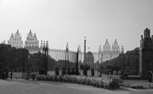 Delicate gate at Delhi Gate