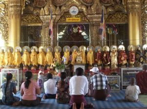 Praying in Sule