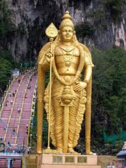Lord Murugan - Batu Caves Backpacking