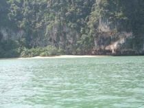 Rai Leh Beach Rock Formation and Cliff Krabi, Thailand