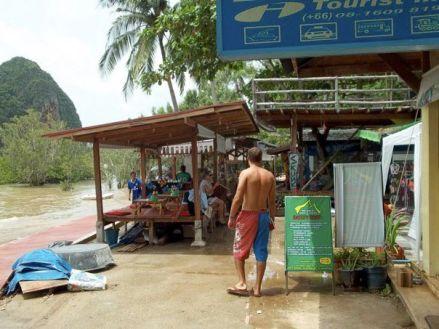 Food Stalls Rai Leh Krabi Thailand