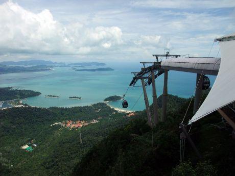 Langkawi Malaysia Cable Car