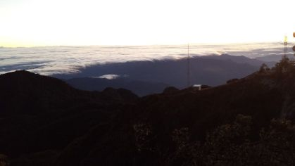 View from the top Volcan Baru