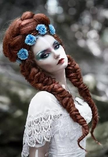 galerie portfolio photo mode lucie champion maquilleuse et coiffeuse Normandie Cherbourg la Manche