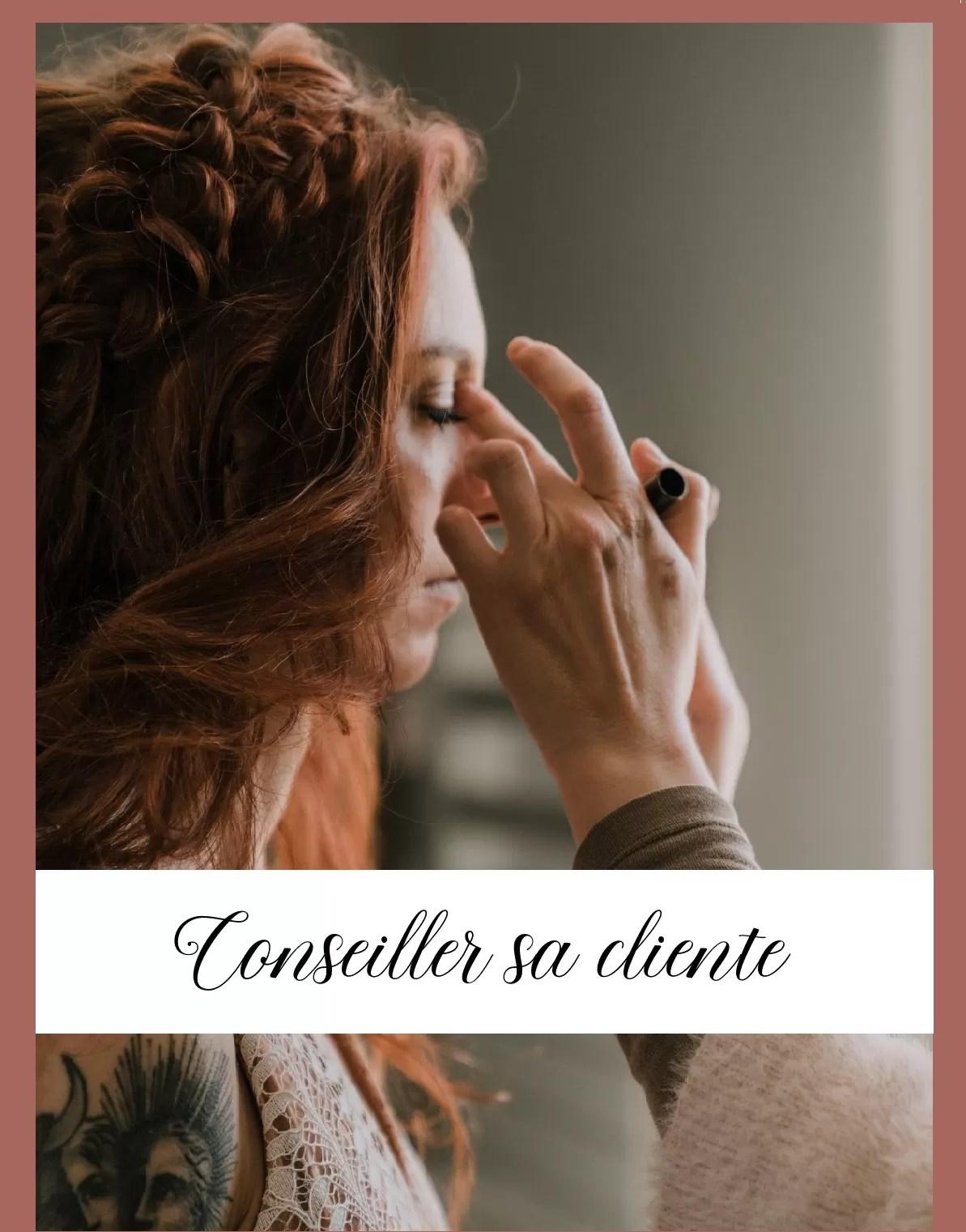 formation conseiller sa cliente cours de maquillage Normandie Cherbourg la Manche