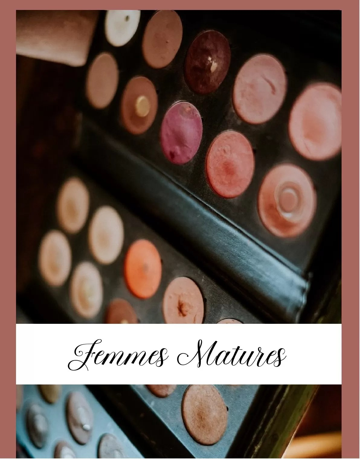 formation maquillage femmes matures Normandie Cherbourg la Manche