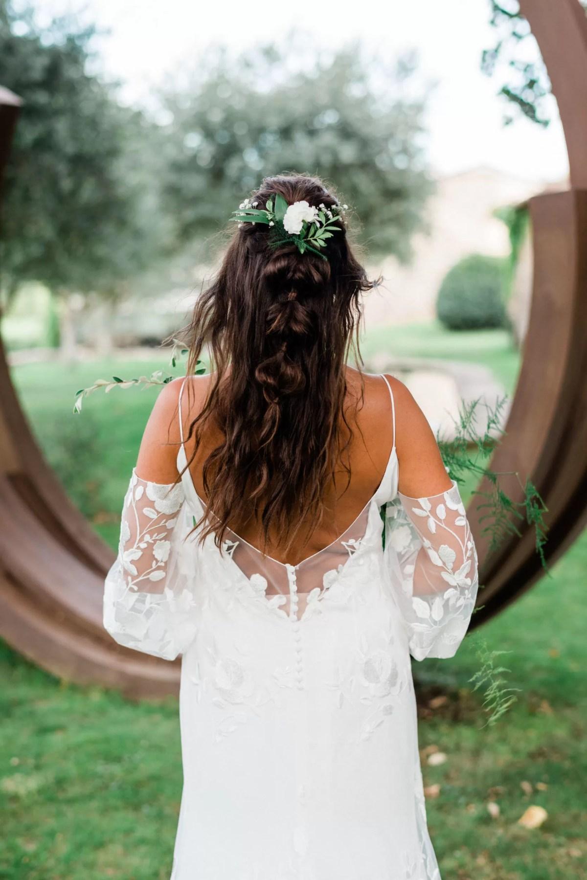 coiffeuse cherbourg normandie coiffure cheveux long mariage champêtre bohème chic