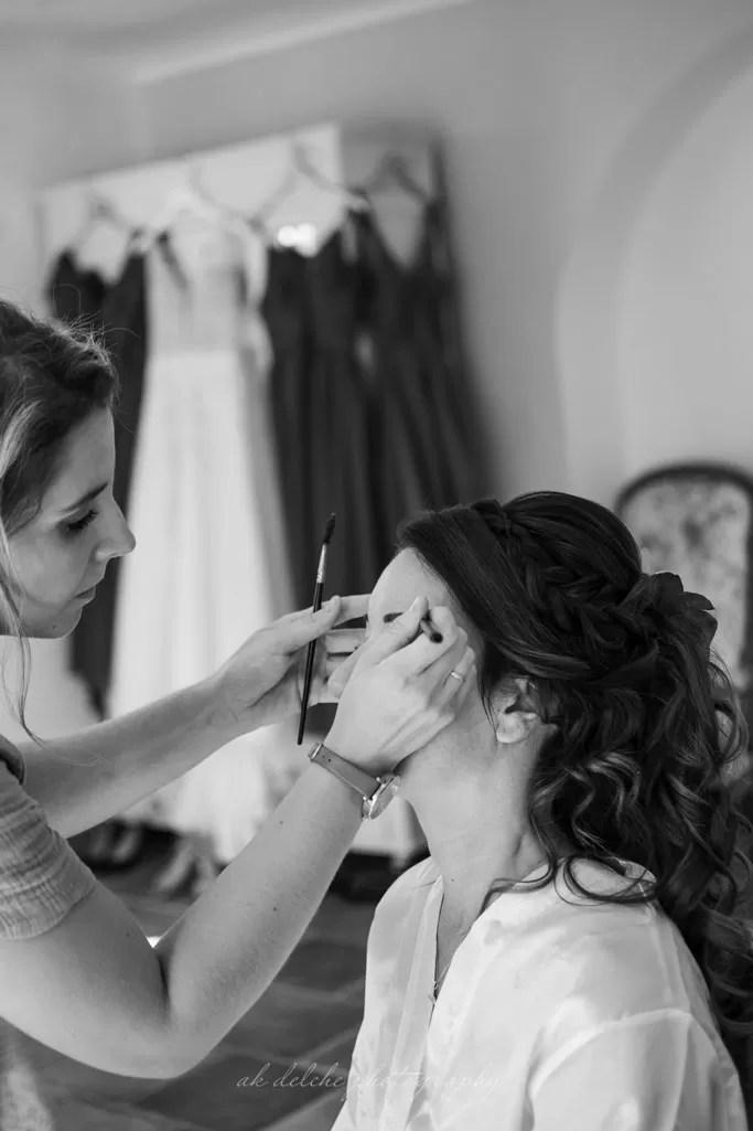 backstage maquilleuse professionnelle mariage à cherbourg en normandie