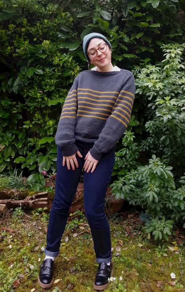 pull Parisienne dans Sentimental tricot d'Alice Hammer