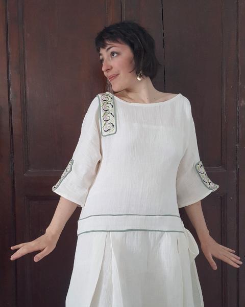 portrait robe d'été 1924