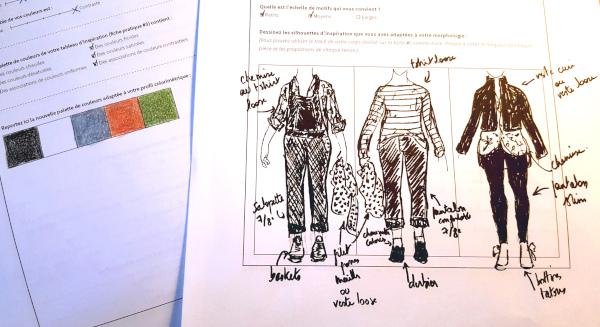 planification de garde-robe avec Dressed de Deer and Doe