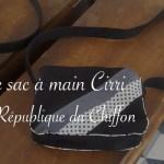 sac à main Cirri de République du Chiffon - Carnet de recherches de Lucie Choupaut