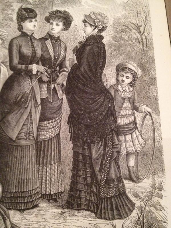 mantelet, La Mode Illustrée, 2 avril 1880