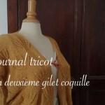 Gilet coquille en cours - Carnet de recherches de Lucie Choupaut
