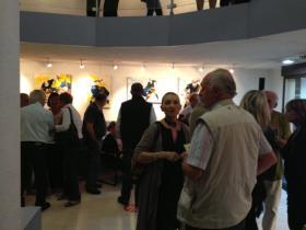Passion Ovale : Lucie LLONG expose ses peintures sur le rugby à Harmonie Auvergne
