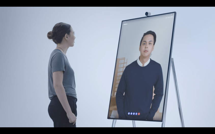 Video consultations just got a lot more realistic with Microsoft Surface Hub 2.0.