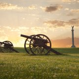 Civil War Cannons at Antietam National Battlefield