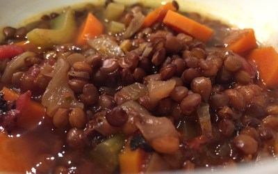 My Favorite Lentil Soup Recipe