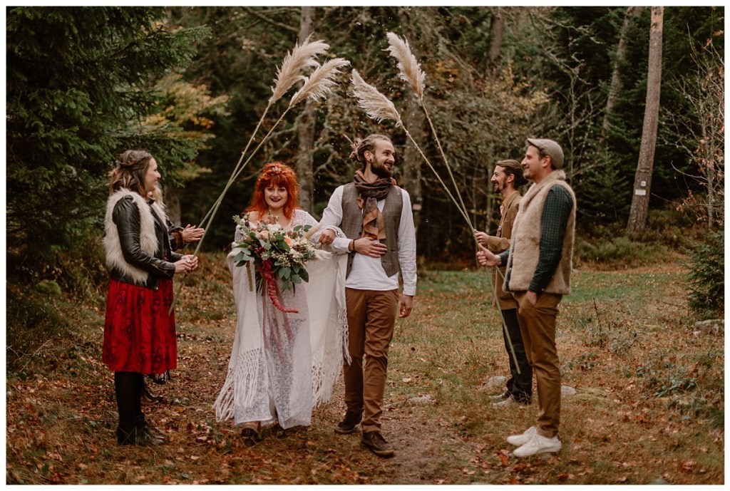 mariage folk france alsace