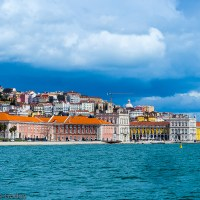 Walking through Sights and Colors of Lisbon