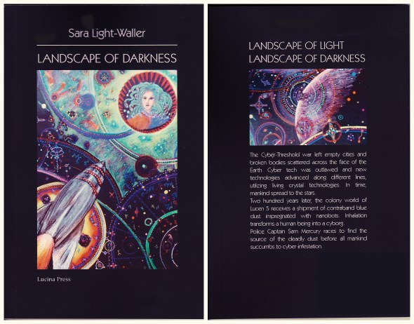 Landscspe of Darkness book cover