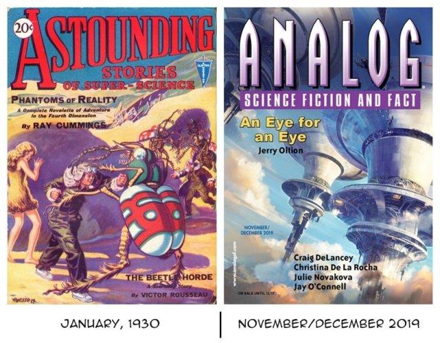 Astounding 1930 and Analog 2019