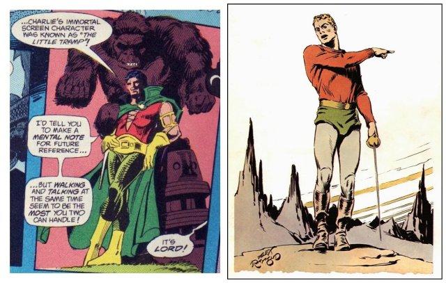 Silverblade and Flash Gordon