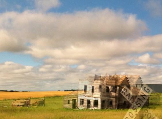 View From The Train: North Dakota