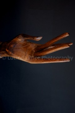 Lucinda Price hand wooden