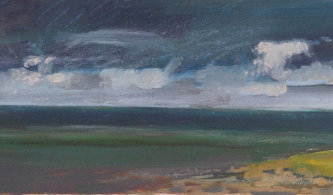 Bright cloud over Daymer II