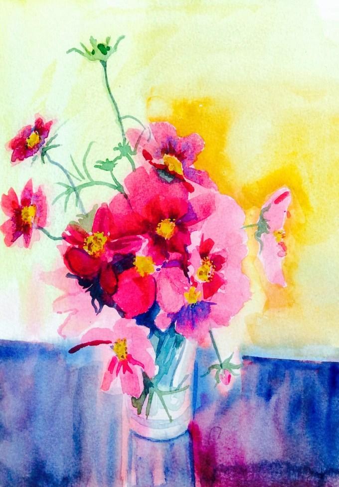Watercolour, 25.4 x 17.8 cm