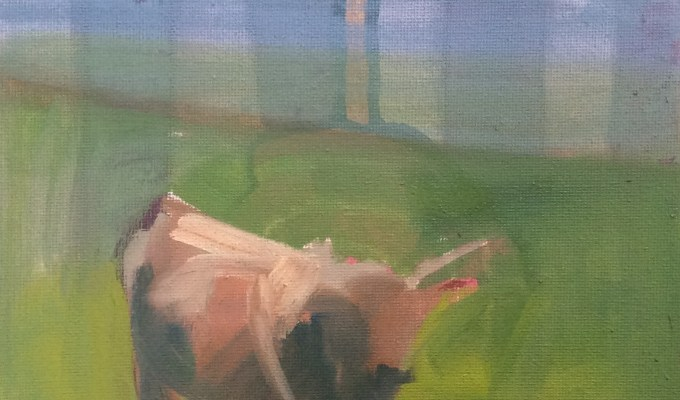 Cow, October Gloaming.
