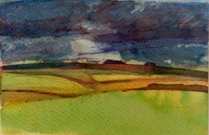 Watercolour, 15 x 11 cm