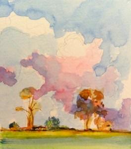 Watercolour, 11 x15cm