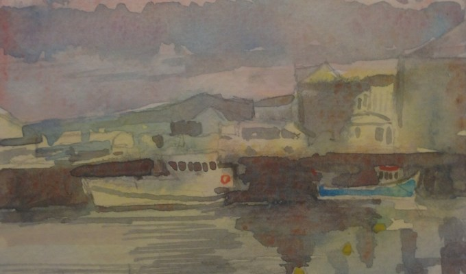 Padstow in Fog