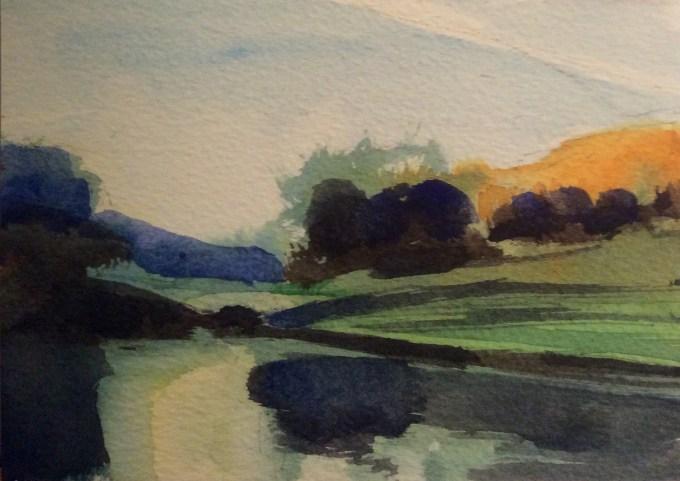 Watercolour, 14.8 x 10 cm