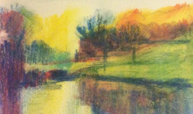 Light on the Pond, Stourhead.