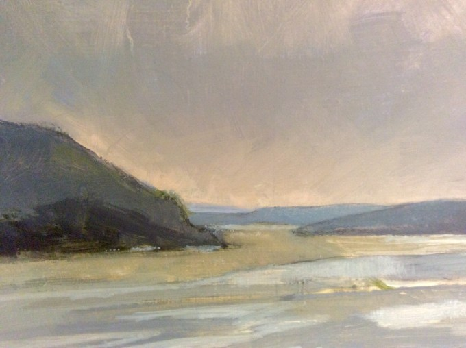 Padstow Evening, Oil on Board.