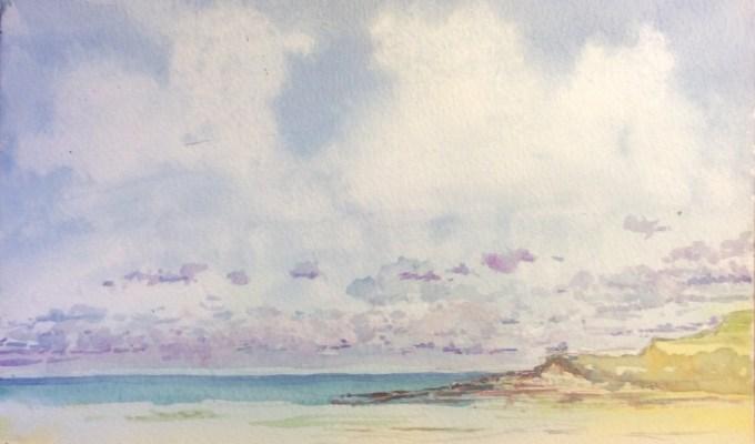 Weird Clouds, Daymer Bay, Cornwall.