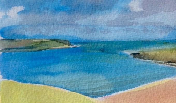 Daymer Bay in Sunshine.