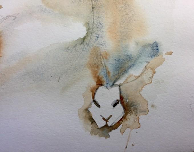 Rex VI, Watercolour, 22 x 15 cm