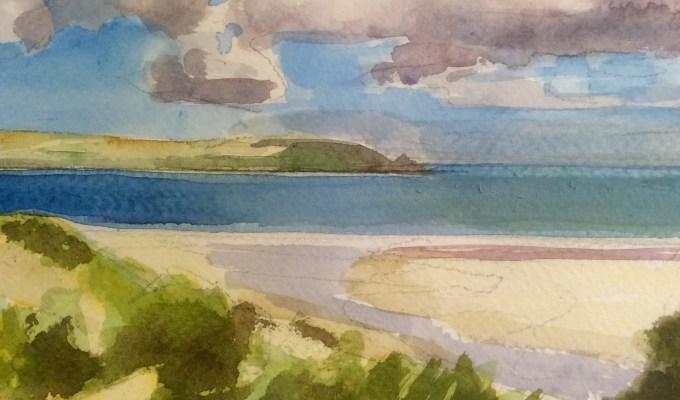Daymer Bay, August.