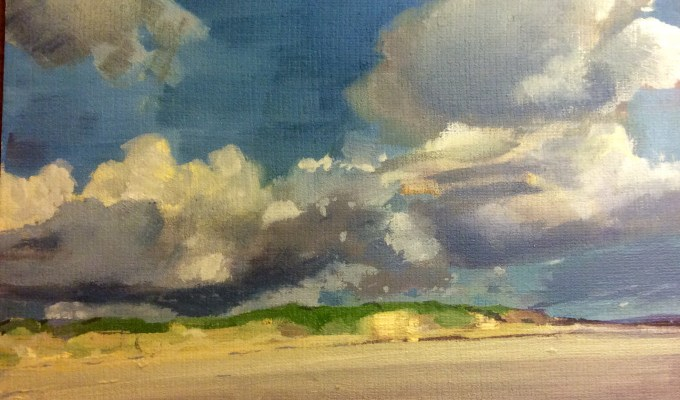 Paintings selected for Royal Society of Marine Artists: Open Exhibition  14th -25th October, Mall Galleries