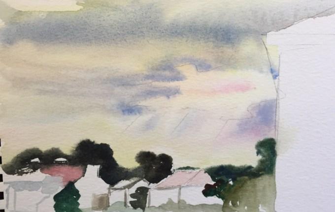 Sunset, Pontac.