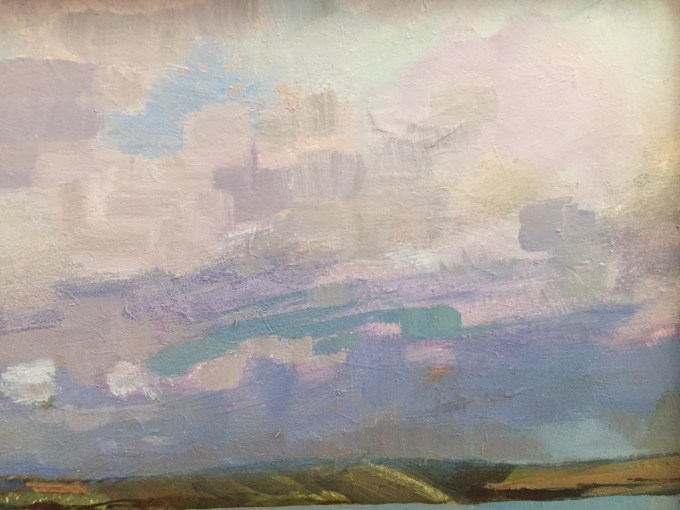 Rock Clouds II, detail.