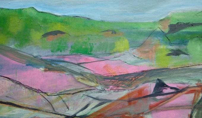 Cornish Cliff Study