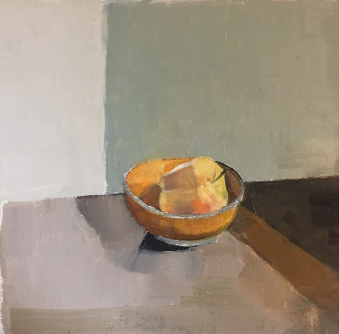 Still Life II, oil sketch