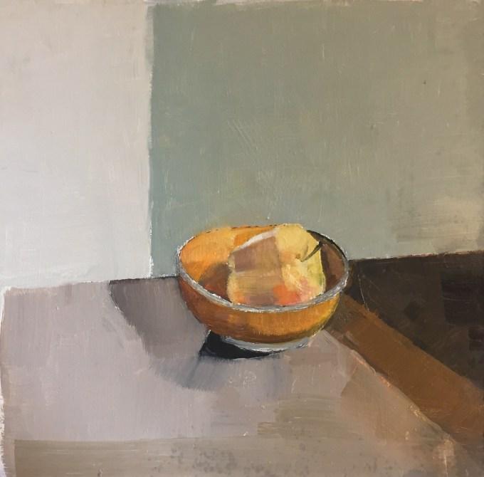 Still Life II, oil sketch