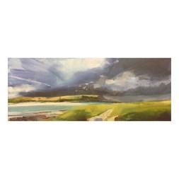 Storm beyond Daymer, Fisherman's Cove.