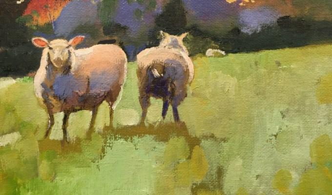 October Sheep II